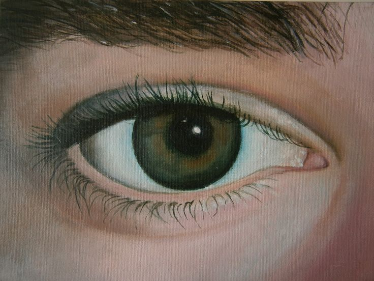 painting of my eye, could be better by : Ebvs