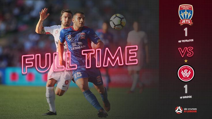 HAL.4 Sun.29.10.17 N.Jets (0) 1 WSW (1) 1 Bridge opens his account in his 2nd stint for WSW with a well executed strike at McDonald Jones Stadium.  WS Wanderers FC (@wswanderersfc) on Twitter