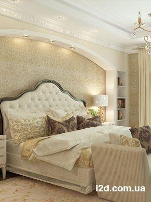 Спальня - французский стиль. Коттедж 500кв.м