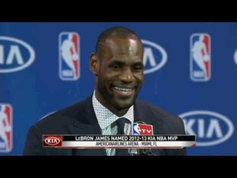 LeBron James 2013 NBA MVP Full Press Conference (41 min) [5.6.2013]