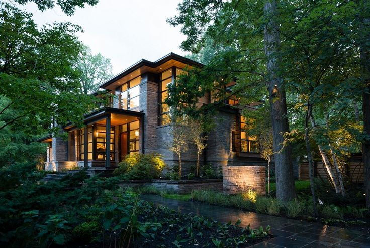 architecture modern home Front Exterior Modern Home Aiming at Converting Traditionalists by David Small Design