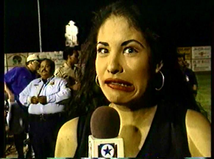 Selena Quintanilla- Being her normal self- she would always make people laugh