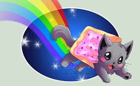YAY!!! nyan cat is coming!!!!
