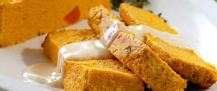 Budín dorado | Las mejores recetas saludables encontralas en Viví Nestlé