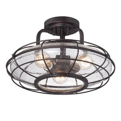 savoy house connell 3 light semi flush mount reviews wayfair kchenbeleuchtunghausbeleuchtungjunge - Kchenbeleuchtung Layout