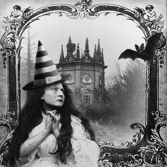 Busty british babe witch hat | Erotic images)