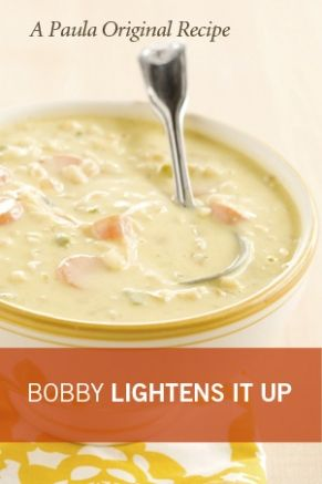 Light Corn Chowder: Dinners Tonight, Jack Corn, Lights Corn, Corn Chowders Recipe, Chef Jack, Jack O'Connel, Lighter Chef, Bobby Lighter, Bobby Deen