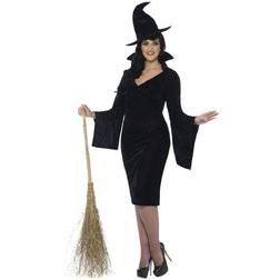 Serás una elegante bruja con este disfraz, hechizarás a todos.
