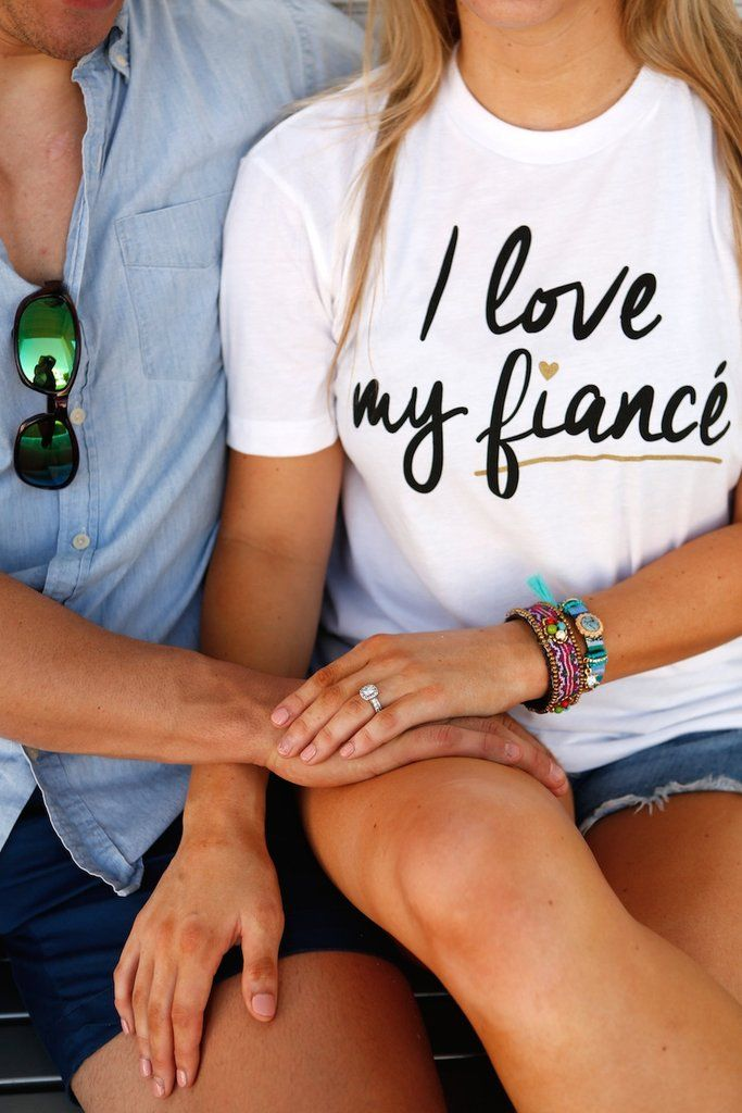 I Love My Fiance - SS Color: White 60/40 combed ringspun cotton/poly sueded jersey Sizing Small - 2/4 Medium - 6/8 Large - 10/12 XL - 14/16