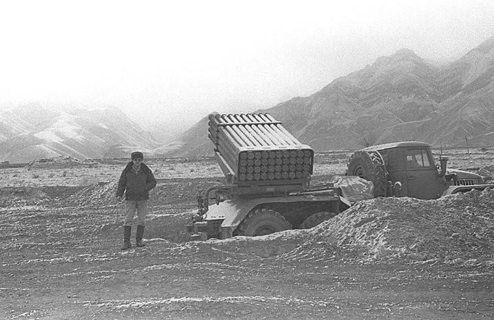 BM-21 Grad, Soviet-Afghan War.