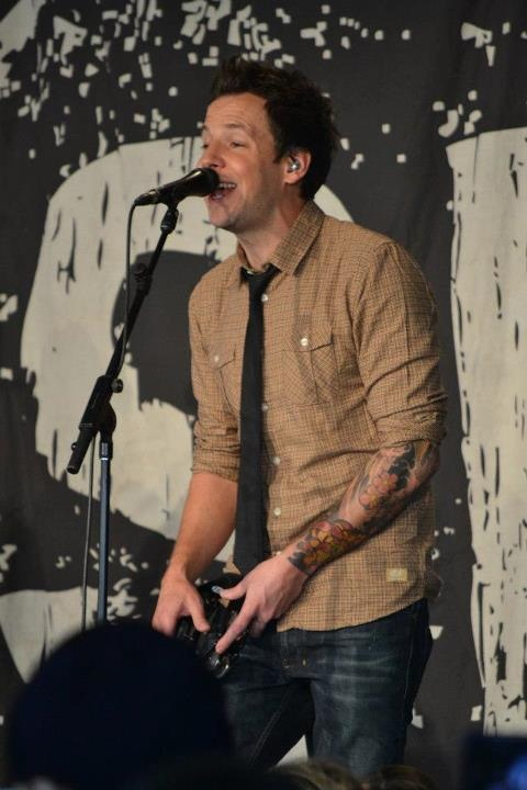 Pierre Bouvier Of Simple Plan Acoustic Performance At The