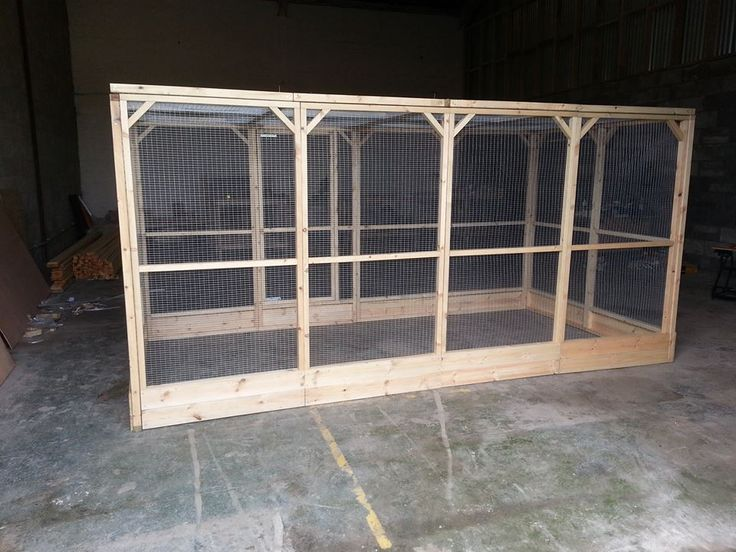 Large 12x6x6ft Walk In Rabbit Run With Kickboad Around The