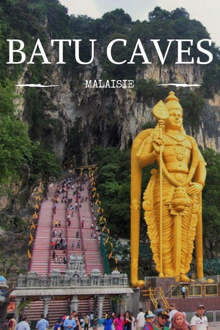 Photos et récit de ma visite des Batu Caves en Malaisie. Je vous dis comment y aller depuis Kuala Lumpur!