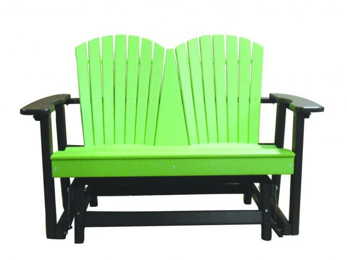 Perfect Choice Outdoor Furniture 2-Person Glider - Tropical Colors