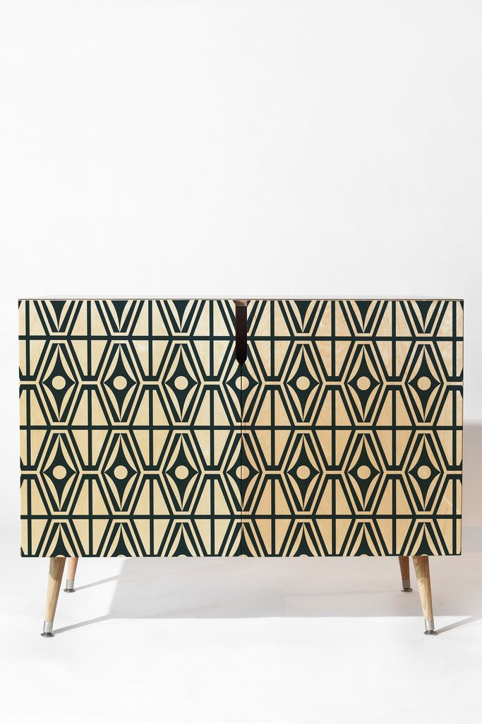 Heather Dutton Metro Steel Credenza | DENY Designs Home Accessories