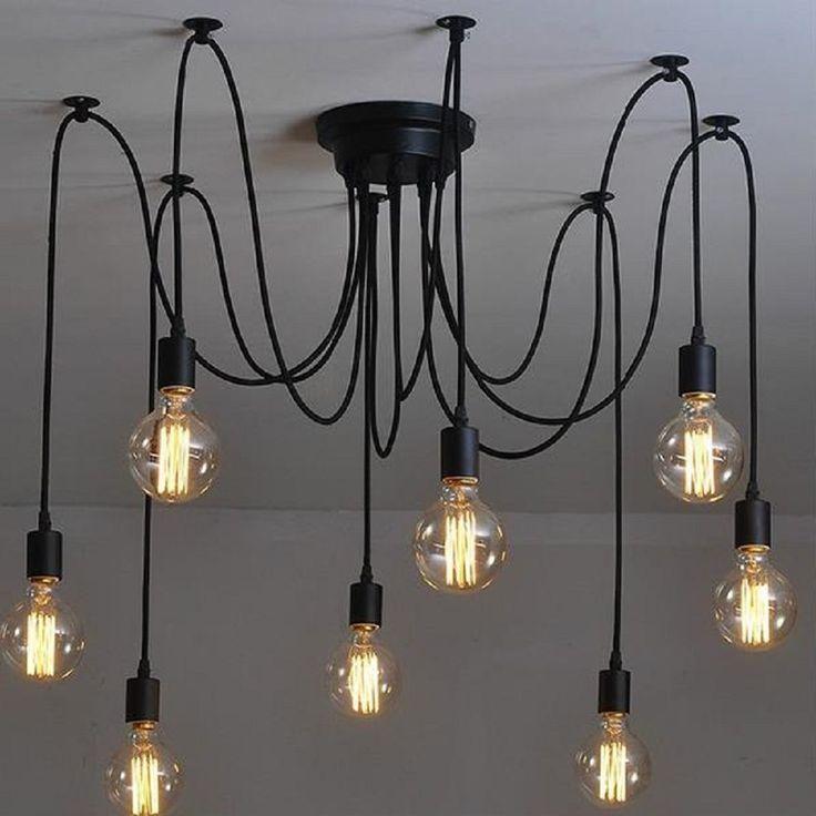 Deze designlamp hang je geheel naar eigen smaak op. Met deze aparte lamp ben je echt origineel.
