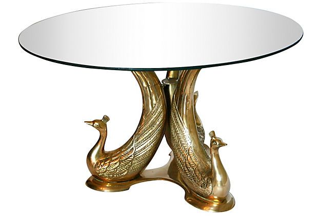258 best images about peacock furniture pp on pinterest for Peacock coffee table
