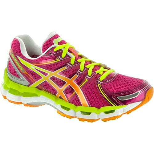 ASICS GEL-Kayano® 19 Lady Raspberry/Mango/Lime : Running: Holabird. Woman  RunningWomen Running ShoesRunning ...