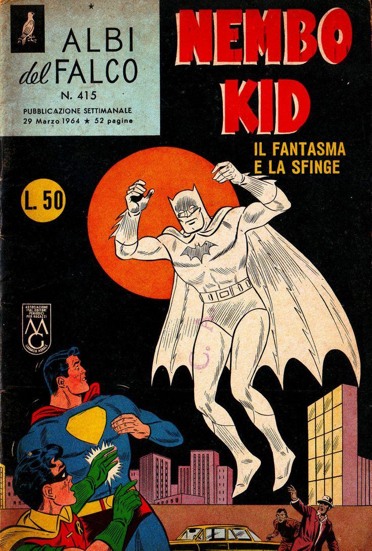 Albi Del Falco Nembo Kid N 415 Del 1964 Mondadori Superman Batman
