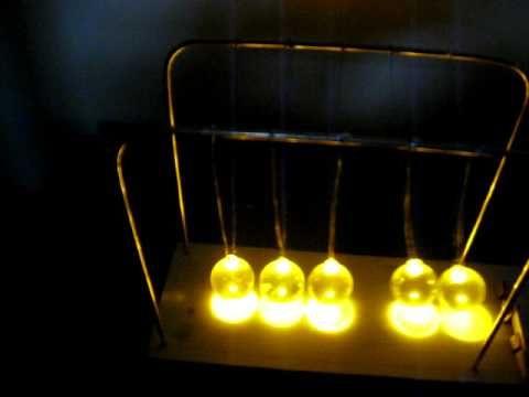 Lighted Newton's Cradle                                                       …