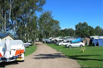 Camp sites at BIG4 Karuah Jetty Caravan Park