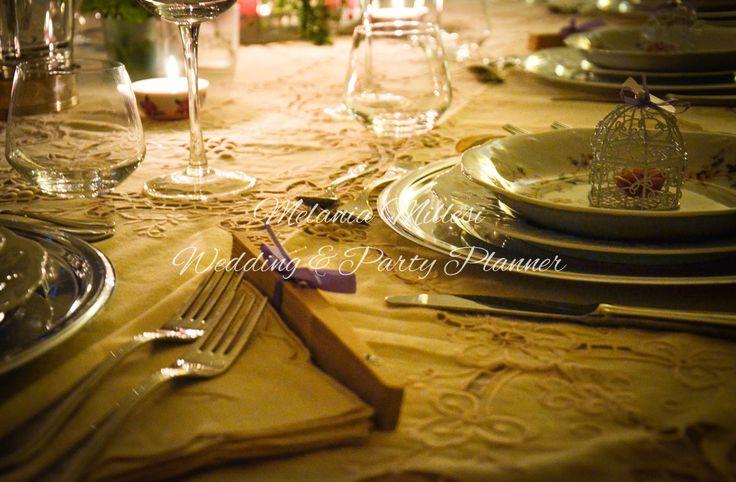 Table decor... Allestimenti ... Wedding e Party Planner Catania Melania Millesi http://www.melaniamillesi.it/