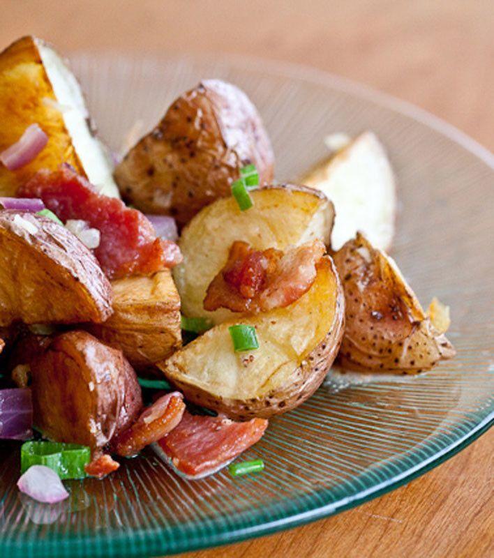 Warm Bacon Potato Salad. | Dinner | Pinterest