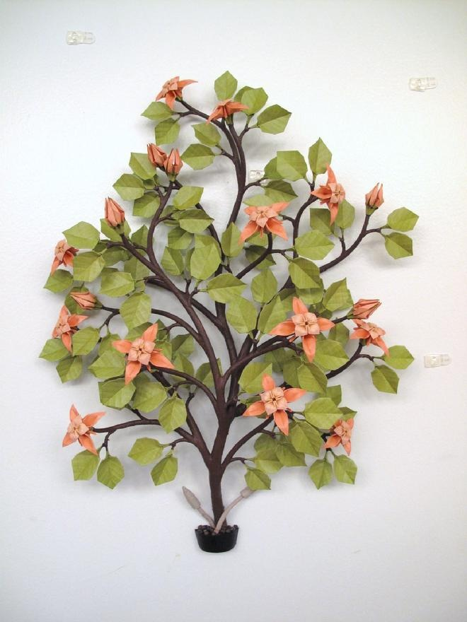 8 best origami plants called origami bonsai images on