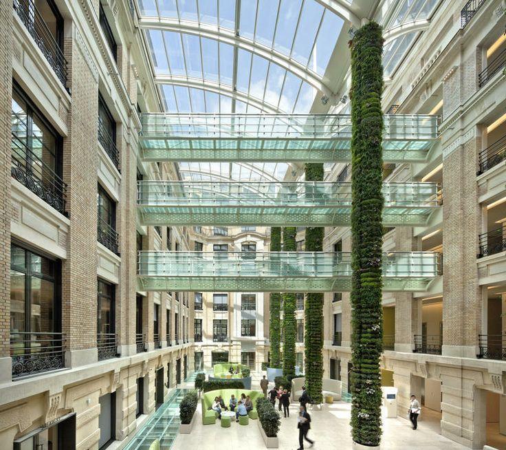 LA BOETIE - Paris 8ème (75) - MO: Sanofi - Architecte: Juan Trindade - Photographe: Daniel Rousselot / Interlinks Image