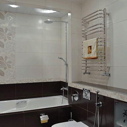 керамическая плитка  для ванной и кухни Kerama Marazzi Дождь в Альпах