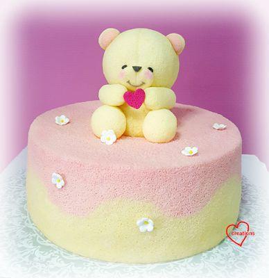 Loving Creations for You: Forever Friends Bear Yuzu Chiffon Cake