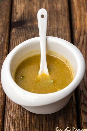 vinagreta de miel y mostaza para ensaladas receta