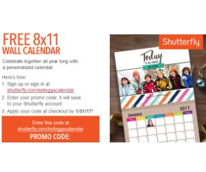 FREE Shutterfly Calendar with Kellogg's Family Rewards! - http://www.momscouponbinder.com/free-shutterfly-calendar-kelloggs-family-rewards/ #freebies #freestuff #free