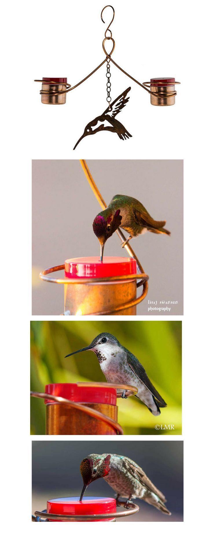 hooked on hummingbirds.Two Station Hummingbird Feeder.