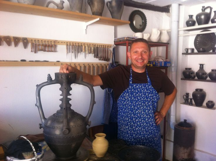 PIROSKA loves the work of Laszlo Lakatos, 3rd generation black ceramic artist. Shipment arrives early 2014. www.piroska.com.au