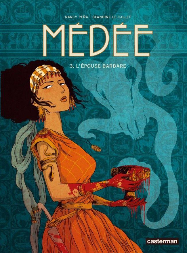 Couverture de Médée (Le Callet/Pena) -3- L'épouse barbare
