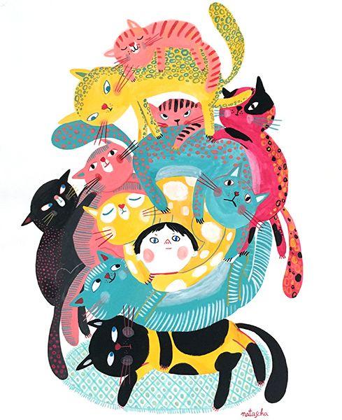 Resultado de imagen de natascha rosenberg cats