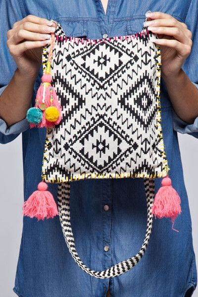 Crossbody Tapestry Bag
