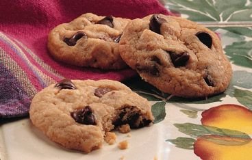 Quick Chocolate Chip Cookies | Food for Thought | Pinterest