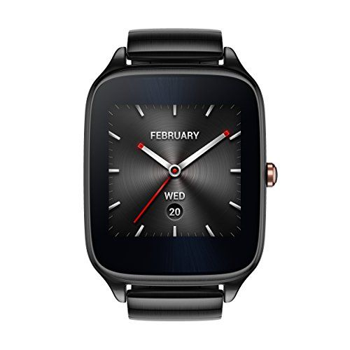 ASUS ZenWatch 2 WI501Q-GM-GR-Q 1.63-inch AMOLED Smart Watch with  Quick Charge - GRAY METAL * You can find out more details at the link of the image.