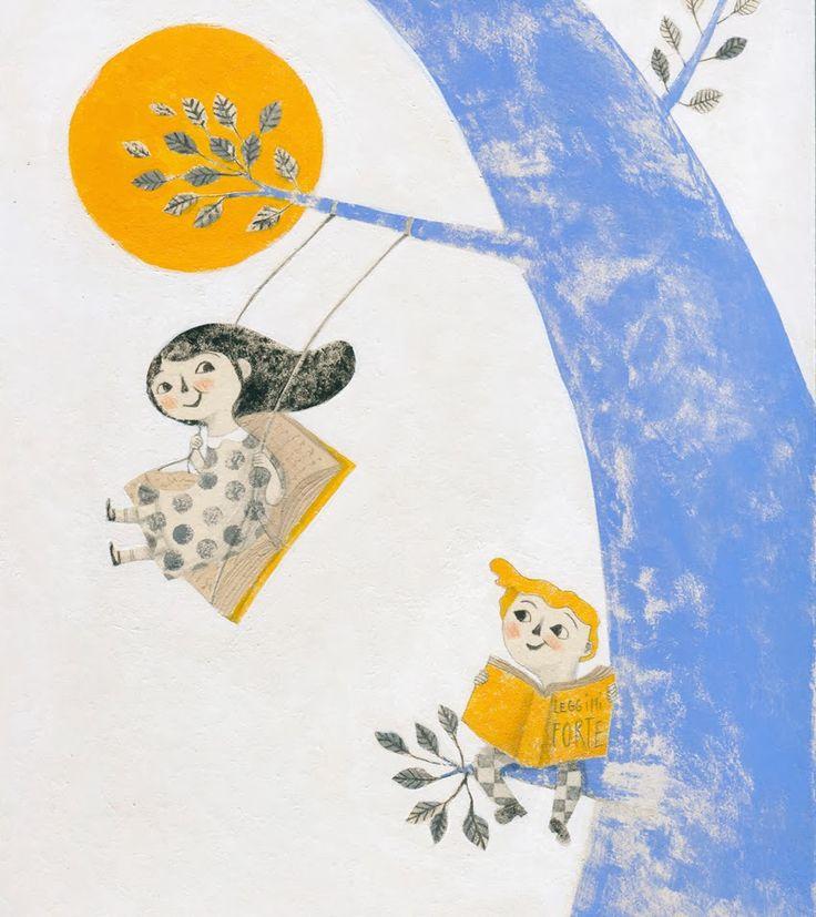 alessandra vitelli illustratrice: 10 anni di Leggimi Frorte