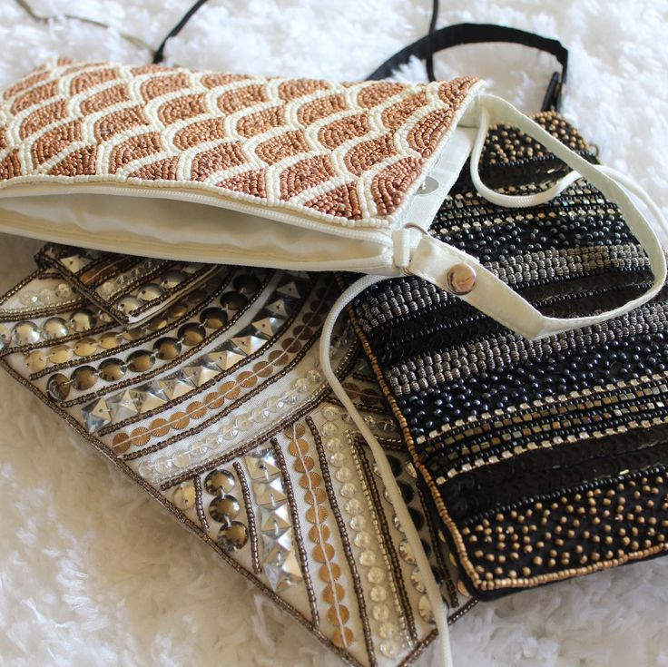 The Beaded Neutral Clutch