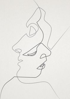 face sketches minimal - Google Search                                                                                                                                                      More