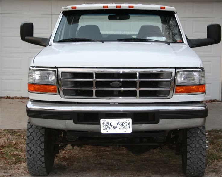 Dodge Tow Mirrors On An Obs Done Right Ford Truck