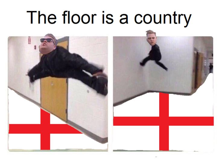 England is my ity