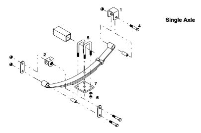 best 25  trailer axles ideas on pinterest
