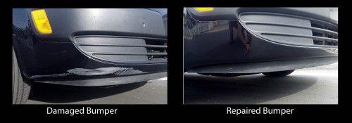 Repaired Bumper | Mobile bumper & scratch repair at Auto Cosmetic Solutions