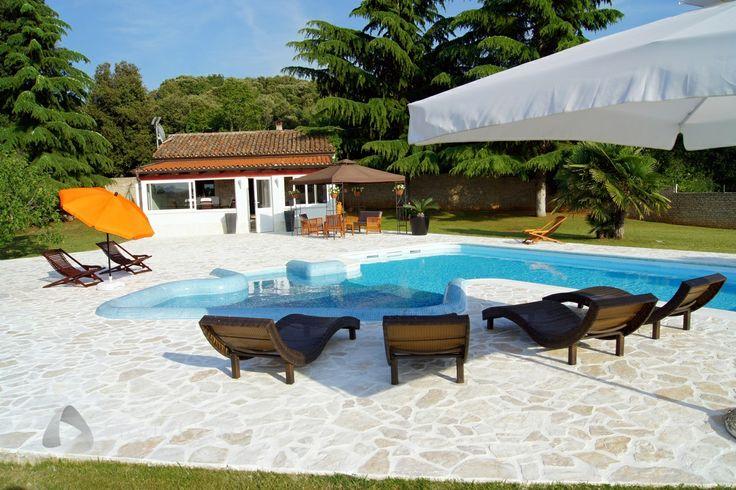Villa Oliva, Rovinj, Istria, Croatia   #GodeGate #villa #modern #HolidayHome #vacation #Rovinj #Istria #Croatia #Adria