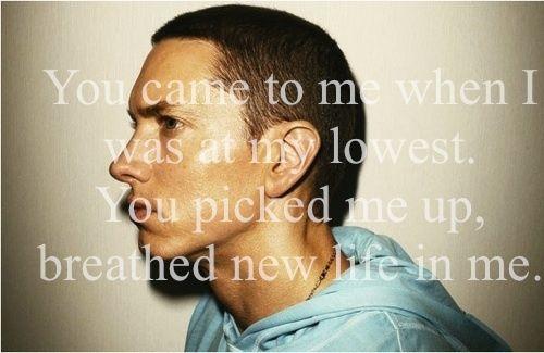 Eminem..today's modern poet.