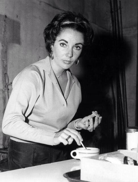 Elizabeth Taylor & #coffee